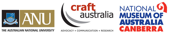 The Australian National University, Craft Australia, National Museum of Australia